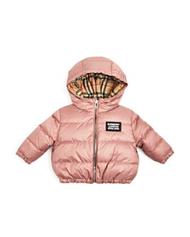 Burberry - Girls' Rayan Reversible Hooded Down Jacket - Baby