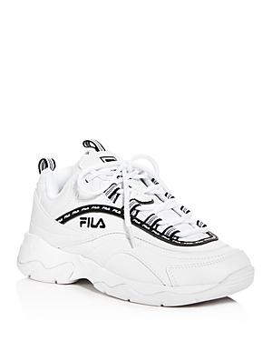 Fila Sneakers WOMEN'S RAY REPEAT LOW-TOP SNEAKERS