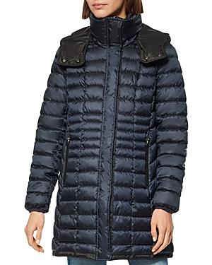 Marble Puffer Coat