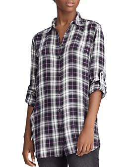 Ralph Lauren - Plaid Tunic Shirt