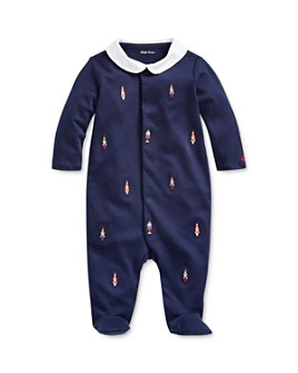 Ralph Lauren - Boys' Embroidered Nutcracker Footie - Baby