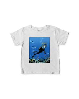Kid Dangerous - Boys' Scuba Diver Tee - Little Kid, Big Kid