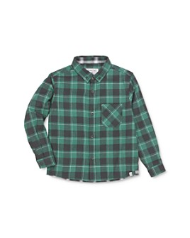 Sovereign Code - Boys' Logic Flannel Button-Down Shirt - Little Kid, Big Kid