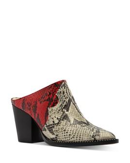 SCHUTZ - Women's Destiny Block Heel Mules