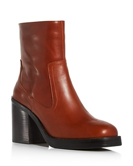 Jeffrey Campbell - Women's Maxen Square-Toe Platform Booties