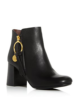 See by Chloé - Women's Block-Heel Booties