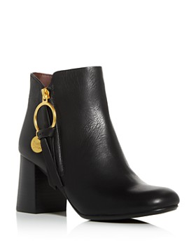 See by Chloé - Women's Block-Heel Booties