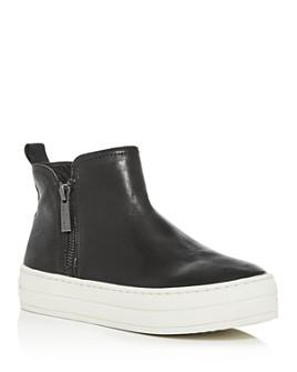 J/Slides - Women's Cindy Zip Platform Sneakers