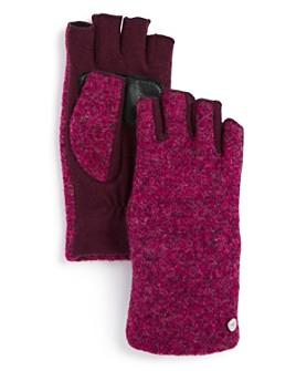Echo - Bouclé Fingerless Gloves