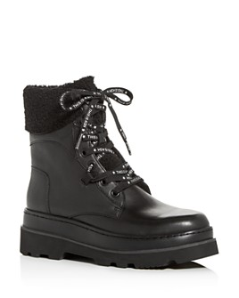 Ash - Women's Siberia Platform Combat Boots