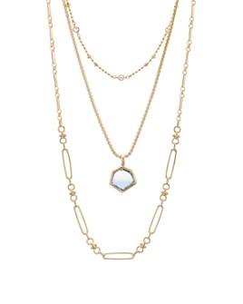 "Kendra Scott - Vanessa Multi Strand Necklace, 16""-18"""