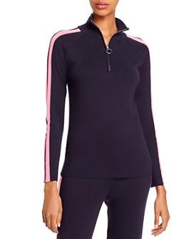 AQUA - Track Stripe Sweater - 100% Exclusive