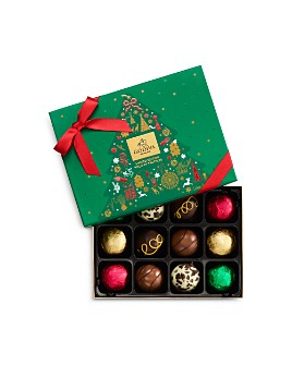 Godiva® - Holiday Truffle Gift Box, 12 Pieces
