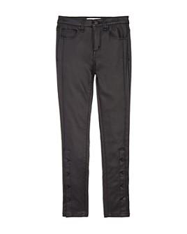 Habitual Kids - Girls' Karlie Faux Leather Skinny Jeans - Big Kid