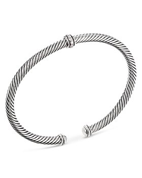 David Yurman - Cable Classic Center Station Bracelet with Diamonds