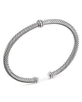 David Yurman - Cable Classic Center Station Bracelet with Diamonds