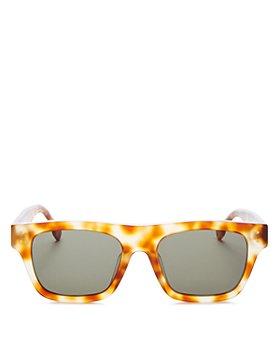 Le Specs Luxe - Unisex Motif Square Sunglasses, 52mm