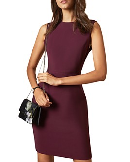 Ted Baker - Sskyed Working Title Seam Detail Fitted Dress