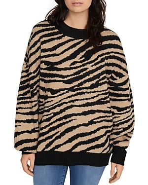 Sanctuary Sweaters ANIMAL-PRINT SWEATER