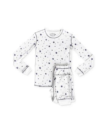 PJ Salvage - Girls' Star Print Tee & Pants Pajama Set - Little Kid, Big Kid