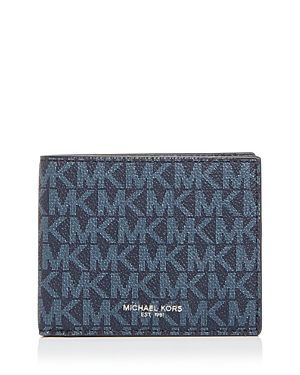 Michael Kors Jet Set Slim Bi-Fold Wallet-Men