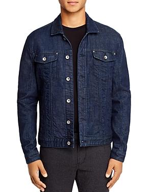 John Varvatos Star Usa Denim Slim Fit Trucker Jacket