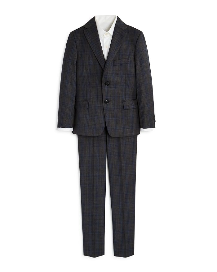 Michael Kors - Boys' Two-Piece Plaid Suit - Big Kid