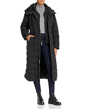 Cole Haan Plus Long Puffer Coat