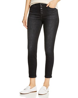 Level 99 - Cropped Skinny Jeans in Highway