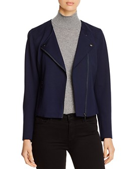Bagatelle - Ponte Knit Moto Jacket