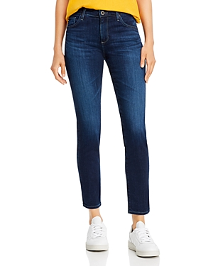 Prima Mid Rise Skinny Ankle Jeans in Concord