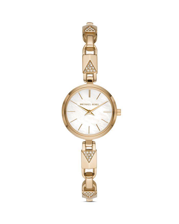 Michael Kors - Jaryn Mercer Bangle Bracelet Watch, 28mm