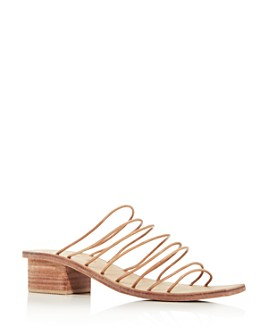 St. Agni - Women's Ines Strappy Square-Toe Sandals