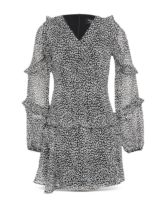 Bardot Junior - Girls' Mimi Ruffled Leopard Dress - Big Kid