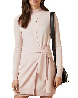 Ted Baker - Amrita Tie Detail Knit Tunic Dress