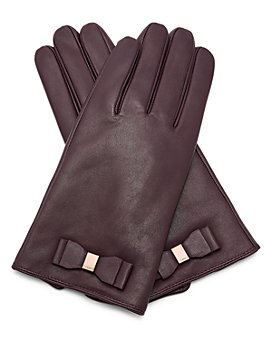 Ted Baker - Bblake Bow Leather Gloves