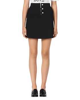 Sandro - Bale Knit Mini Skirt