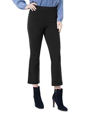 Liverpool Los Angeles Stella Textured Ponte Kick-Flare Pants-Women