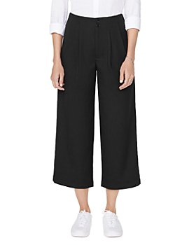 NYDJ - Frisco Wide-Leg Cropped Pants
