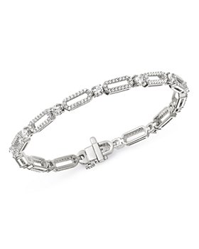 Bloomingdale's - Diamond Link Bracelet in 14K White Gold, 2.5 ct. t.w. - 100% Exclusive