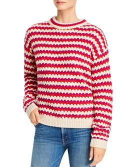 Rebecca Minkoff - Katherine Waved-Stripe Sweater