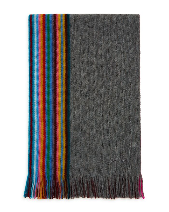 Paul Smith Accessories MULTI-EDGE STRIPED SCARF