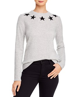 Minnie Rose - Star Cashmere Sweater