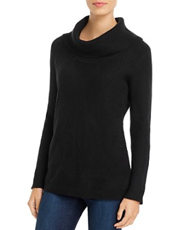 Calvin Klein - Diamond Stitched Cowl-Neck Sweater