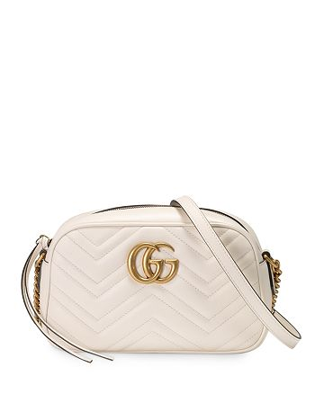 Gucci - GG Marmont Small Matelassé Shoulder Bag