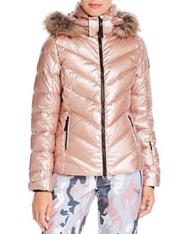 Bogner Fire + Ice - Sassy 2 Fur-Trim Down Coat