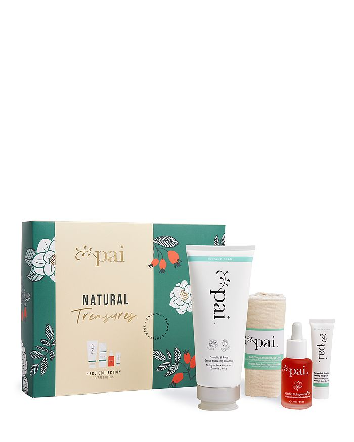 Pai Skincare Natural Treasures Heroes Collection ($117 Value)