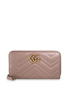 Gucci - GG Marmont Quilted Leather Continental Wallet