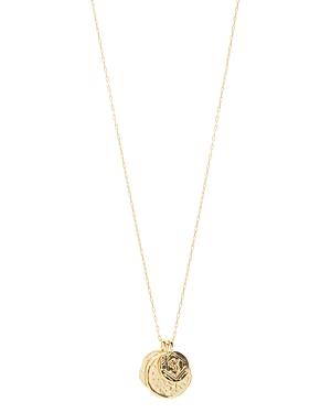 Gorjana Ana Coin Pendant Necklace, 30