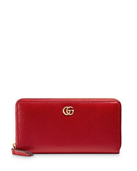 Gucci - Leather Zip Wallet